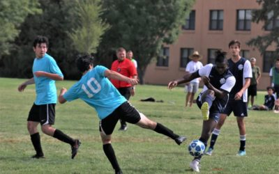 Men's Club Soccer Win First Game